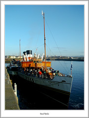 PS Waverley About to depart (flatfoot471) Tags: 2006 april glasgow govan merchant normal pacificquay paddlesteamer pswaverley riverclyde scotland ships spring unitedkingdom yorkhill cityofglasgow gbr