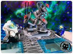 48-09 The Communications Array (captainmutant) Tags: afol classic space lego ideas legospace legography photography minifig minifigs minifigure minifigures moc sciencefiction science fiction scifi exploration brickography toy custom
