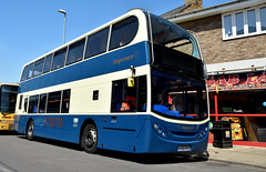 Stratford Blue (Travis Pictures) Tags: bus buses busrally busesuk whittlesey peterborough busshow publictransport transport fenlandbusrally summer sunny outdoors cambridgeshire historicbus vehicle nikon d7200 photoshop doubledecker doubledeck stagecoach enviro400 alexanderdennis