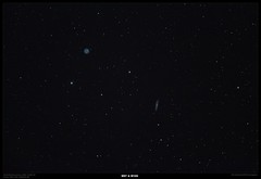 M97 (owl) and M108 (Myrialejean) Tags: messier m97 m108 owl nebula astronomy night sky pixinsight skywatcher celestron ngc3594