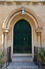 Church Door [Sliema - 25 April 2018] (Doc. Ing.) Tags: 2018 malta sliema church holytrinity anglicanchurch door green dwwg oldnewwindowsdoors tassliema