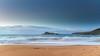 Sunrise Seascape with Clouds (Merrillie) Tags: daybreak sunrise nature dawn clouds centralcoast morning northpearlbeach sea newsouthwales rocks pearlbeach nsw sky rocky ocean earlymorning landscape australia coastal waterscape outdoors seascape waves coast water seaside