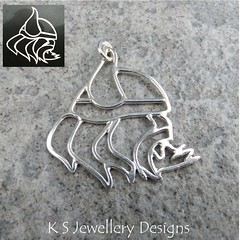 Viking Sterling Silver Wire Pendant (commission) (KSJewelleryDesigns) Tags: metalwork pendant necklace jewellery jewelry handmade brightsilver shine sterlingsilver silverjewellery handcrafted silver silverwire metal hammered shiny polished bright soldered soldering brushed petals sawing piercing metalsmith metalsmithing silversmith silversmithing viking vikingpendant vikingwarrior