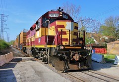 WisCen (BravoDelta1999) Tags: wisconsincentral wc railroad canadiannational cn railway elginjolietandeastern eje lakefront branch southchicago chicago illinois emd gp40 3018 manifest train