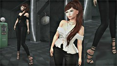 Grease... (bewitcheddifference) Tags: venusshoes kr rhude nomatch amias tréschic events fashion sexy curvy vintage