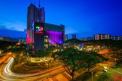 321 (Chye Guan, Tan) Tags: bluehour clementitown clementi 321 hdb hdbscape hdbheartland urbanscape urban urbanliving lighttrail building singapore singaporescape landscape skyline bluesky color