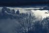 Dusk To Dawn (LeWelsch Photo) Tags: dusk dawn gurtenkulm parkimgrünen mountain summit cloud fog dust tree nightshot night stars gurten bern switzerland a6000 ilce6000 sel55210 lewelsch lewelschphoto