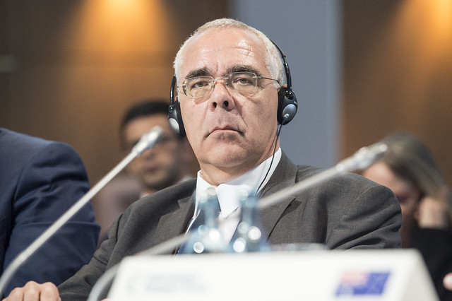 Christian Weissenburger at the Closed Ministerial