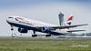 G-BZHB   Boeing 767-300 - British Airways (Peter Beljaards) Tags: airplane aircraft amsterdam schiphol nikond5500 ams boeing767 britishairways ba takeoff departure polderbaan gbzhb 767 rwy36l
