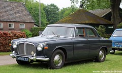 Rover 3 Litre automatic 1963 (XBXG) Tags: mu0982 rover 3 litre automatic 1963 p5 roverp5 bva automatique wittekruisweg lieren beekbergen nederland holland netherlands paysbas vintage old classic british car auto automobile voiture ancienne anglaise uk vehicle outdoor