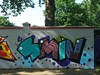 SMIV (mkorsakov) Tags: dortmund nordstadt hafen blücherpark halloffame graffiti wand wall legal bunt colored smiv
