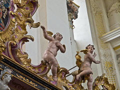Prächtig / Splendid # 8 (schreibtnix on 'n off) Tags: deutschland germany trier architektur architecture barock baroque putte putto kirche church prächtig splendid olympuse5 schreibtnix
