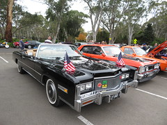 Vintage Car Display at Ridgehaven (RS 1990) Tags: teatreegully ridgehaven classiccardisplay adelaide southaustralia sunday 20th may 2018 cadillac eldorado black