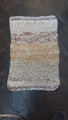 Tapete com tiras de tecido (Costurinhas da Sueli) Tags: tapete porta cozinha tiras de tecido
