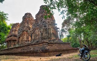 Cambodia, Prasat Bat Chum, the peaceful temple.