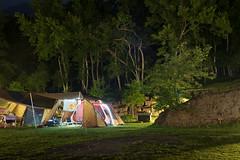 Night view in camping (Wunkai) Tags: nantoucounty taiwan renaitownship 南投縣 仁愛鄉 新生村 伴天聊露營區 camping campsite snowpeak tp670 nightview 山林巷 夜景 露營