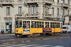 Milano, Piazza Caiazzo 17.01.2018 (The STB) Tags: tram tramway tranvía strassenbahn strasenbahn milano milan milán publictransport citytransport öpnv