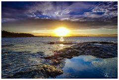 Bass Point Sunset... (e0nn) Tags: steveselbyphotography steev steveselby nisifilters nisi zomei sunset 06softnd pentax pentaxk1 ricoh ocean water waves shellharbour basspoint luminar2018 skylum hdpentaxdfa2470mmf28edsdmwr