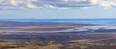 Ölfusá og Eyjar (hó) Tags: ölfusá skálafell suðurland flói ölfus vestmannaeyjar westmanislands heimaey surtsey landscape vista iceland april 2018 river sea sky clouds ditches