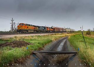Rainy Vehicle Train