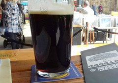 Pint of stout at The Orchard, Preston Market (Tony Worrall) Tags: preston lancs lancashire city england regional region area northern uk update place location north visit county attraction open stream tour country welovethenorth nw northwest britain english british gb capture buy stock sell sale outside outdoors caught photo shoot shot picture captured theorchard pint stout ale glass market drink booze table inside real
