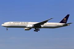 Saudi Arabian Airlines  Boeing 777-3FG(ER) HZ-AK36 (widebodies) Tags: london heathrow lhr egll widebody widebodies plane aircraft flughafen airport flugzeug flugzeugbilder saudi arabian airlines boeing 7773fger hzak36