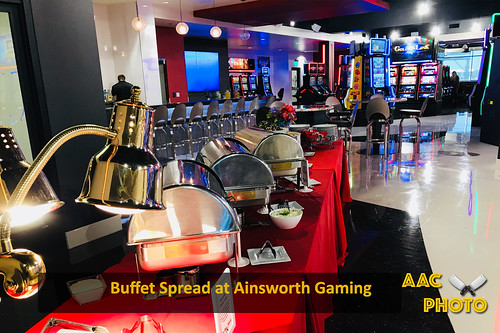"""Buffet at Ainsworth Gaming Technologies • <a style=""""font-size:0.8em;"""" href=""""http://www.flickr.com/photos/159796538@N03/41831292842/"""" target=""""_blank"""">View on Flickr</a>"""