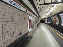 Paddington Underground Station (TheTransitCamera) Tags: london england unitedkingdom uk paddington canal paddingtonstation tfl transportforlondon underground bakerloo rapidtransit tube transportation transport travel