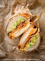 Ike's XXX-Tina (Bitter-Sweet-) Tags: vegan vegetarian sandwich california sanfrancisco bayarea restaurant bread sub dutchcrunch meatless hearty comfortfood savory lunch takeout ikes cheese dairyfree gluten