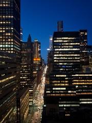 New York by night (valeriaconti136) Tags: newyork newyorkbynight grattacieli luci città strada skyline edificio manhattan samsungs8