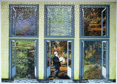 Monet's Garden Jigsaw (pefkosmad) Tags: jigsaw puzzle hobby leisure pastime complete used secondhand art fineart painting pasttimes giverny monet claudemonet painter artist