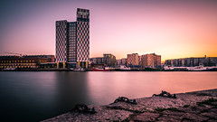 Sunset in Helsinki - Finland - Cityscape photography (Giuseppe Milo (www.pixael.com)) Tags: photo landscape sunset finland buildings helsinki sea clarion urban travel photography sky seascape longexposure europe geotagged architecture uusimaa fi onsale