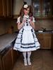 It's ice cream time! (blackietv) Tags: lolita blouse dress petticoat lace frilly white tgirl transvestite crossdresser crossdressing transgender