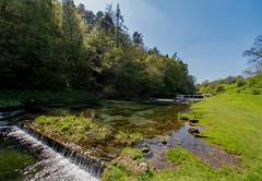 Lathkil falls. (S.K.1963) Tags: lathkil dale stream river sky walk olympus omd em1mkii 7 14mm 28 pro peak district derbyshire landscape