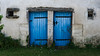 Choix. (Canad Adry) Tags: charente france sony e kit lens sel mm oss mirrorless house door color blue doors twins symetry symétrie bleu porte maison country countryside campagne grass white blanc herbe deux two façade front architecture zoom wide angle rural 1855