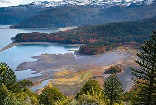 Vista del Condor - Parq. Nac. Conguillio (Norpatagonia Chile)