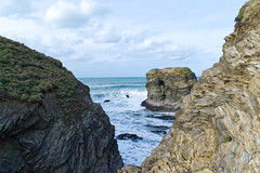 Porth Cove Newquay (alangregory1) Tags: photo photograph ocean newquay porth scenery uk views travel scenic sea inspirational head cliffs coast coastal british beach beautiful cornish cornwall england dramatic
