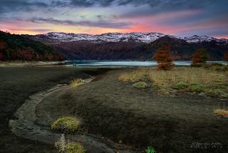 Sierra Nevada en otoño - Parq. Nac. Conguillio (Norpatagonia Chile)