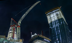 everyone lean in (pbo31) Tags: rinconhill financialdistrictsouth construction salesforce crane lean tilt skyline folsomstreet city urban panorama stitched panoramic large night black may 2018 spring boury pbo31 nikon d810 color sanfrancisco