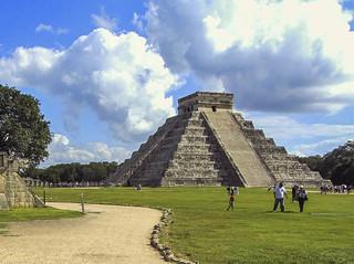Pirámide de Kukulkán , Chichén Itzá - Mexico