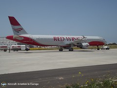 Red Wings LZ-BNK Malta (Aircraft Aviation in Europe) Tags: red wings airbus a321 malta international airport