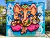 Lord Ganesh (Janardan das) Tags: streetculture travelphotography explore elephantart urbanart streetphoto streetphotography streetartistry artistry culture life colour color eastsussex susses mural photography streetart graffiti artwork brighton boxart flickr unlimitedphotos photos mobilepics iphonegraphy iphoneshots iphone365 iphone demigod hinduism esoteric elephantgod elephant lordganesha lordganesh ganesh ganesha