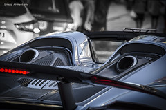 Porsche 918 Spyder (Puerto Banús) (Nash FRosso) Tags: ignacio armenteros spotted agera aventador awesome banus california fast gallardo jackts lamborghini marrusia nature pagani camaro beautiful mclaren monaco vivasaab ferrari zonda special supercar supercars murcielago continental shoty slr sunset ss sp sport rs best rolls koenisegg photoshot gorgeous 1100d woderful f40 f50 gt3 gt 300kmh canon lp560 lp700 luxury bentley couple nice b7 599 458 911 991 worldcars voiture véhicule de course automobile extérieur nikon