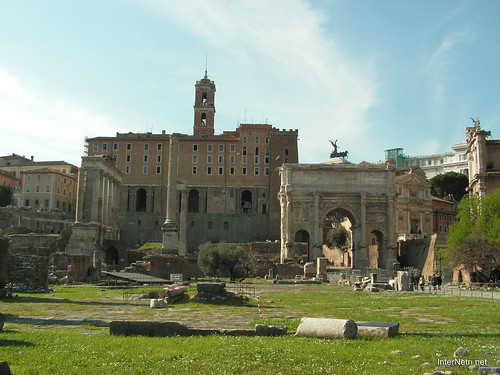 Римський форум, Рим, Італія InterNetri Italy 500