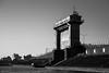 水門 (fumi*23) Tags: ilce7rm3 sony 85mm sel85f18 fe85mmf18 watergate river blackandwhite bw monochrome miyazaki architecture gate 水門 海 川 ソニー a7r3 宮崎 モノクロ