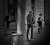 ...rush...rush (christikren) Tags: flickrfriday blackwhite monowheel solowheel christikren rush eilen prisa people street streetphotography vienna happy elektroeinrad sw schnell mono sport couple urban bewegung monochrome