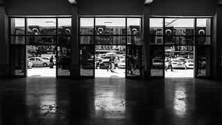 Unintented triptych / facets of the streets