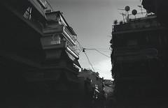 mood (querido_amigo) Tags: analog film pentax trip travel athens bw blackwhite
