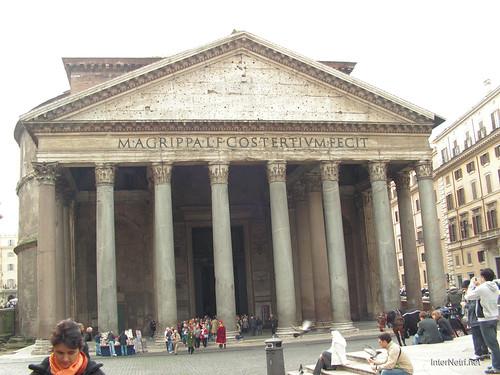 Пантеон, Рим, Італія InterNetri Italy 116