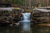 Split Rock in April (2018) (jeffseverson) Tags: coxingkill longexposure mohonkpreserve splitrock waterfall flowingwater hudsonvalley upstateny newyork water rocks nature